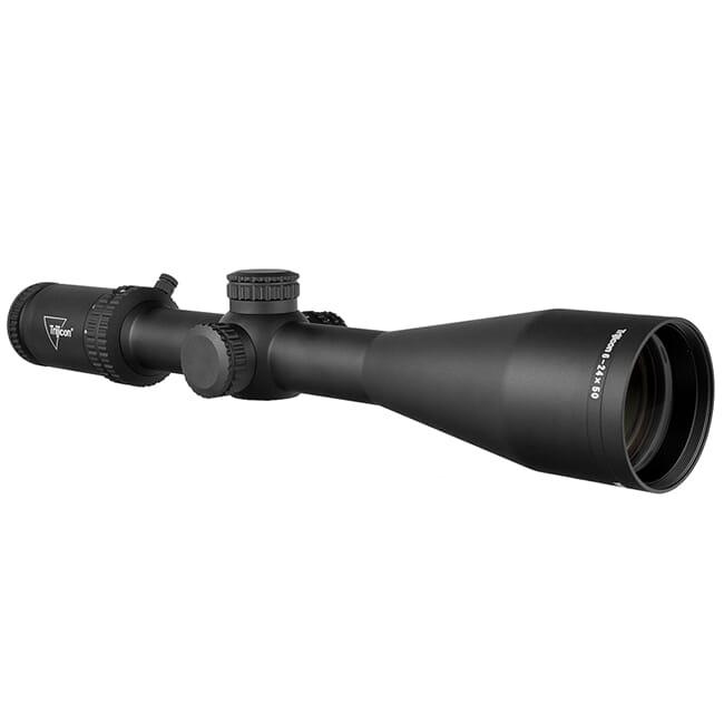 Trijicon Tenmile 6-24x50 SFP w/ Green LED Dot, MRAD Ranging, 30mm, Matte Black Riflescope 3000006