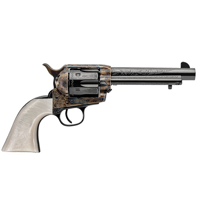 "Uberti Outlaws & Lawmen ""Dalton"" .45 Colt 5.5"" 1873 Single Action Cattleman Revolver 356718"