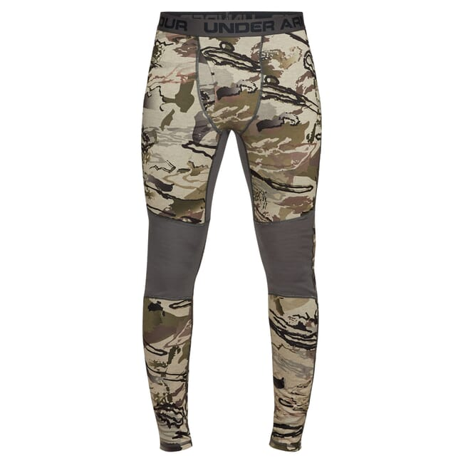 Under Armour Ridge Reaper Wool Base Legging UA Barren Camo/Black 1297425-999