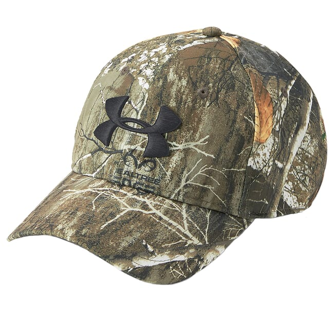 Under Armour WT Camo Cap 2.0 Realtree Edge/Maverick Brn/Blk Size OSFA 1300472-991001