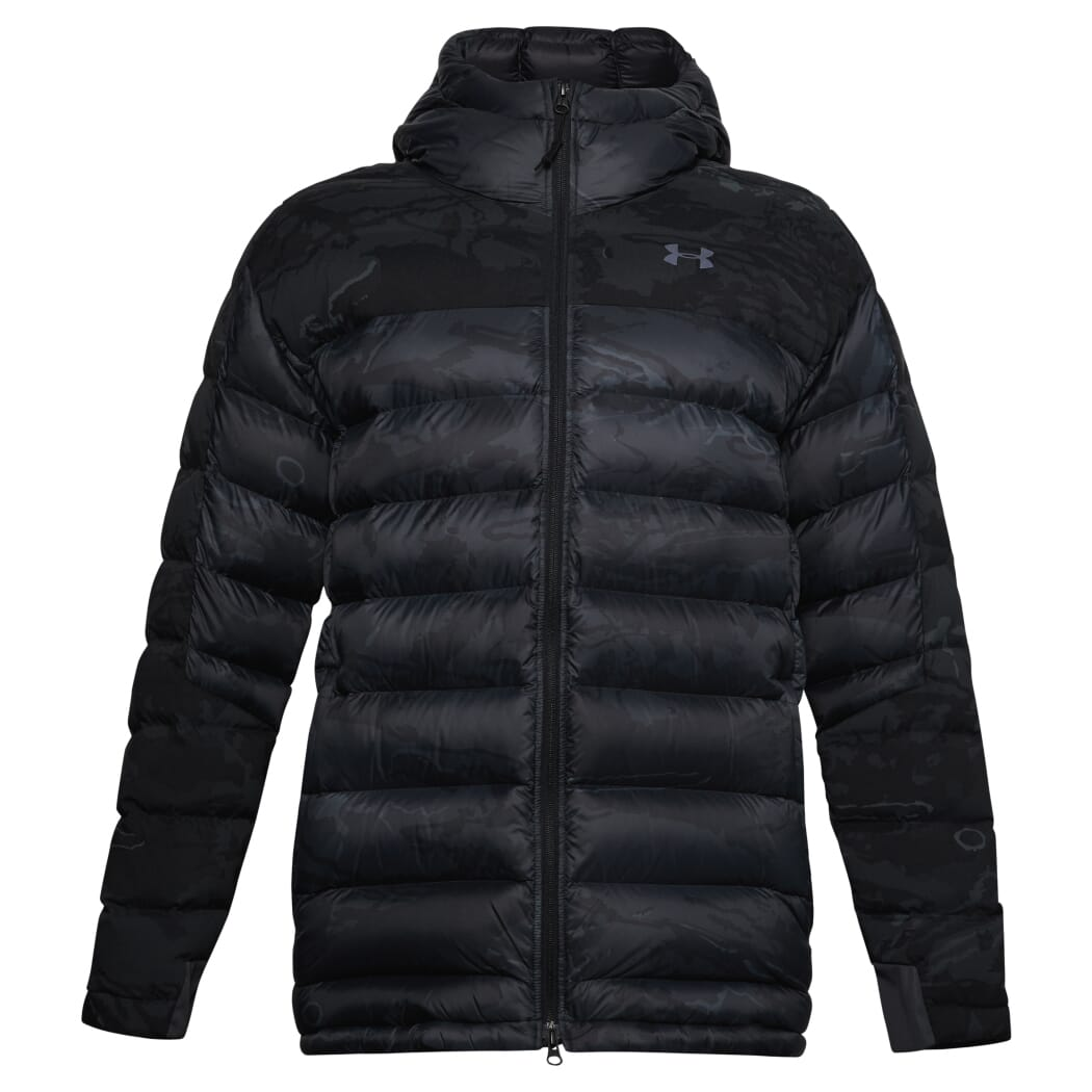 Under Armour Ridge Reaper Alpine Ops Parka UA Blackout Camo/Black LG - New Without Tags 1316722-998002