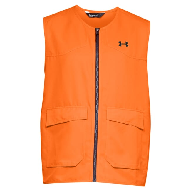 Under Armour Whitetail Hunt Blaze Vest Blaze Orange/Black 1316737-825