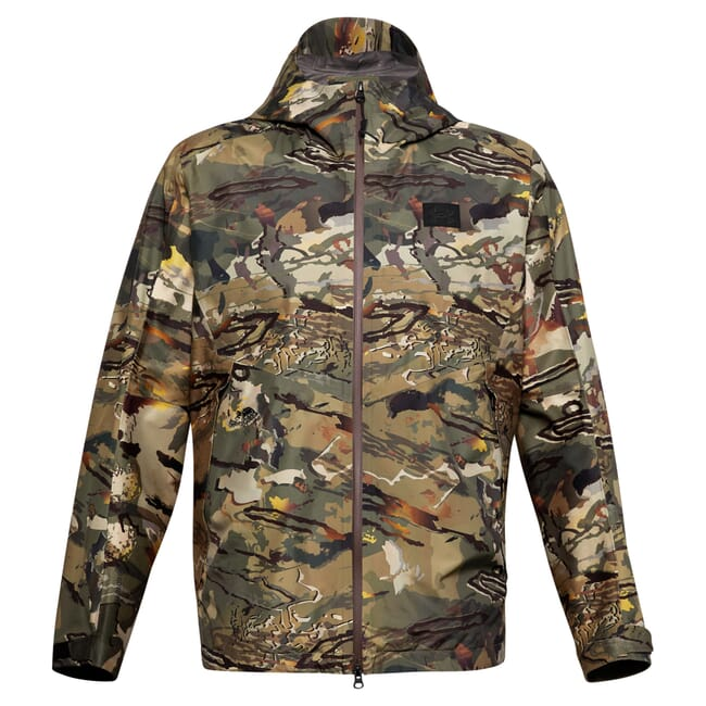 Under Armour Whitetail Gore Essential Hybrid Jacket UA Forest 2.0 Camo/Black 1316962-988