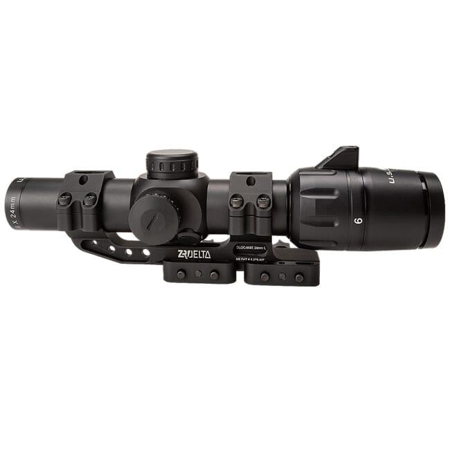US Optics 1-6x24mm SFP 2 MOA Red Dot MT2 Reticle Scope with ZRO Delta M4 DLOC SVS-1-6x