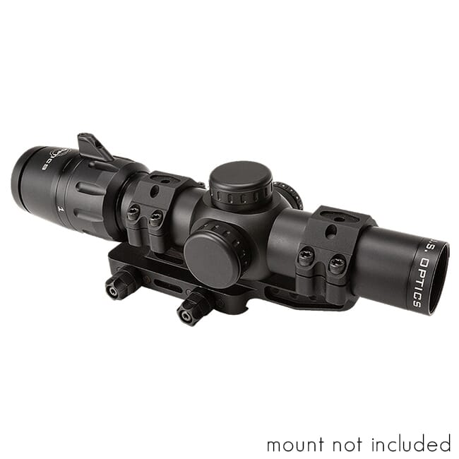 US Optics 1-6x24mm SFP 2 MOA Red Dot MIL-Scale Reticle Scope with ZRO Delta M4 DLOC SVS-1-6x
