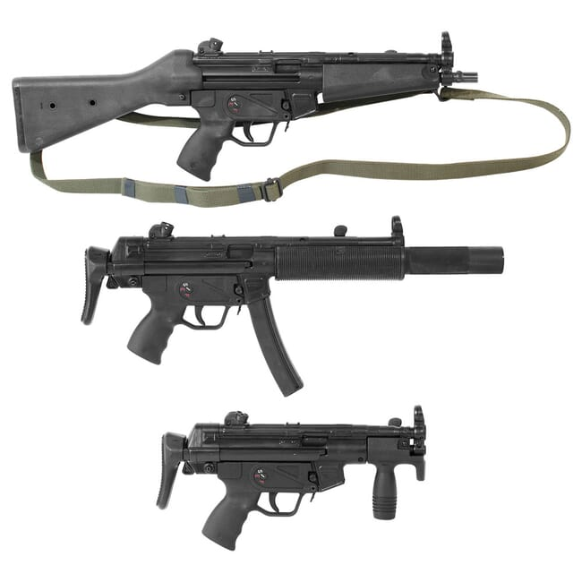 Set of (3) Heckler & Koch 94/MP5K with S&H Auto Sears