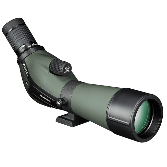 Vortex Diamondback 20?60x60 Angled Spotting Scope DBK-60A1 DBK-60A1