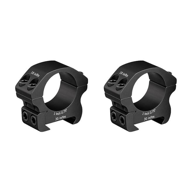 "Vortex Pro 1"" Low (0.75"") Scope Rings PR1-L"
