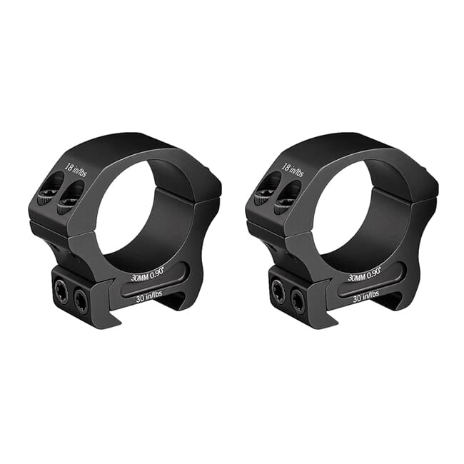 "Vortex Pro 30mm Low (0.90"") Scope Rings PR30-L"
