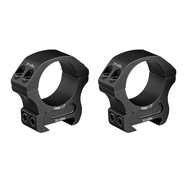 """Vortex Pro 30mm Medium (1.00"""") Scope Rings PR30-M"""