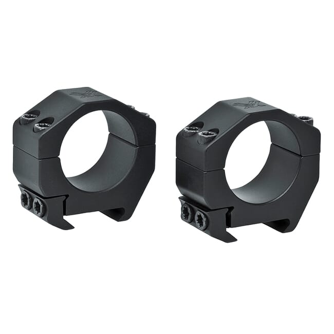 Vortex Precision Matched Rings (Set of 2)  1-Inch (.76 Inch / 19.3 mm) Weaver  PMR-01-76-W Available Spring 2016 PMR-01-76-W