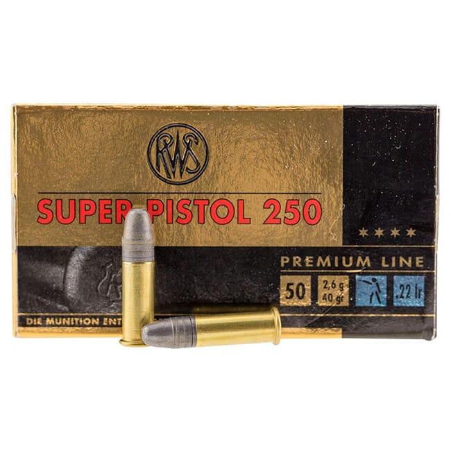 RWS .22LR Super Pistol 250 2315570