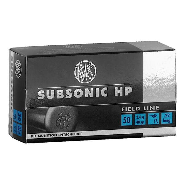 RWS .22LR Subsonic HP 2132664
