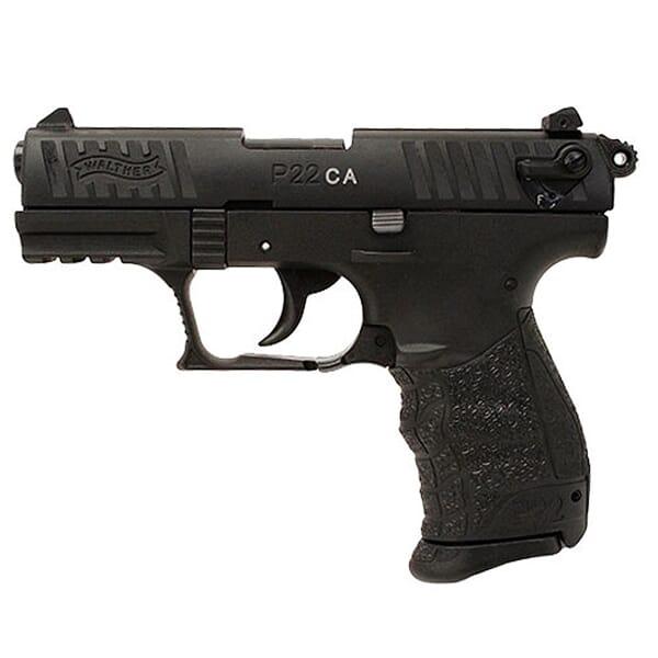 Walther P22 .22lr CA Black 5120333