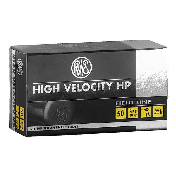 RWS .22LR High Velocity HP 2132494