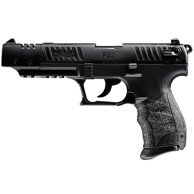 Walther P22 .22lr CA Target Black 5120334