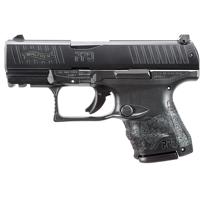 Walther PPQ M2 SC 9mm Black 10 round only Pistol w/ 2 Mags 2815250