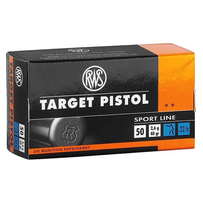 RWS Target Pistol .22LR 2132710