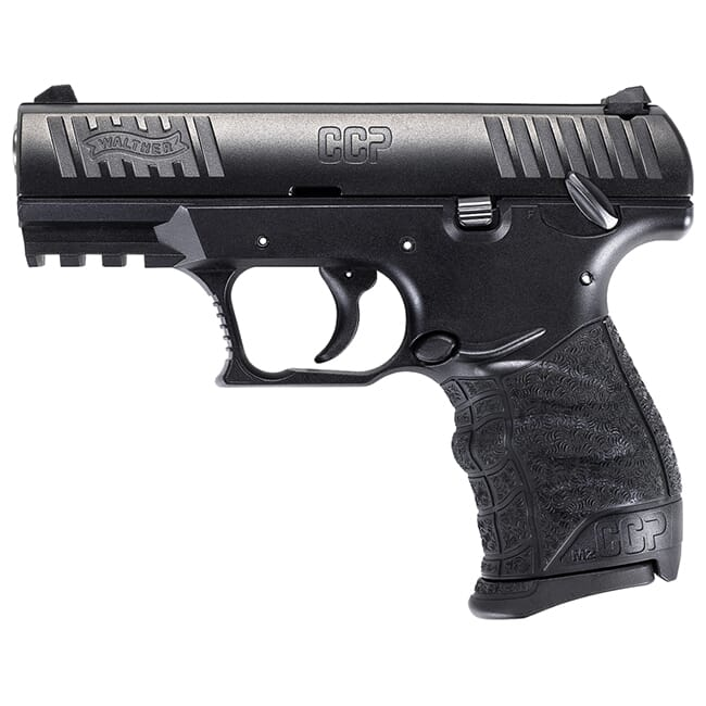 Walther CCP M2 9MM 3.54 Black, 8 RoundPistol w/ 2 Mags 5080500