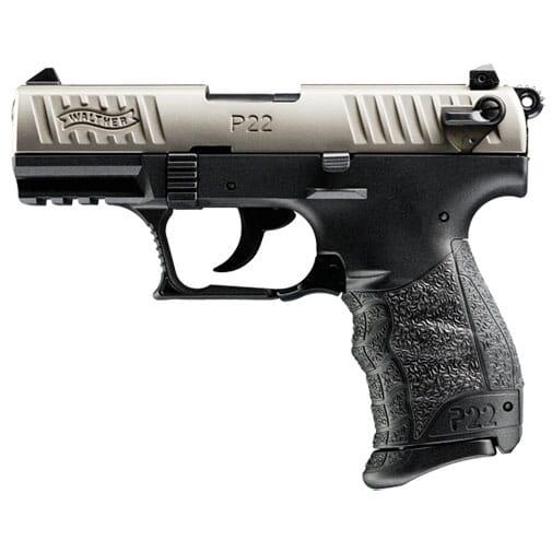 Walther P22 .22lr CA Nickel 5120336