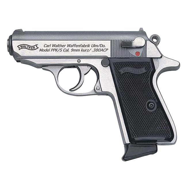 Walther PPK/S .380 ACP Stainless Pistol 4796004