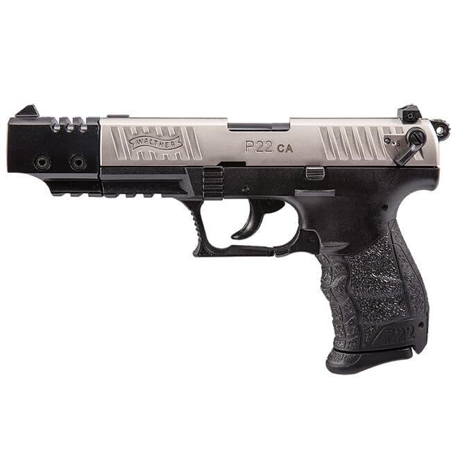 Walther P22 .22lr CA Nickel Target 5120337