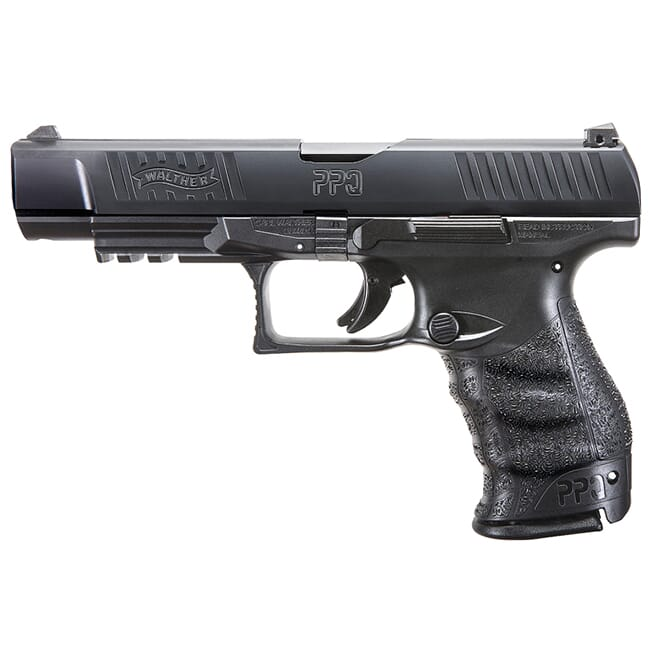 "Walther PPQ M2 9mm Black 5"" Standard 15 round Pistol w/ 2 Mags 2813734"