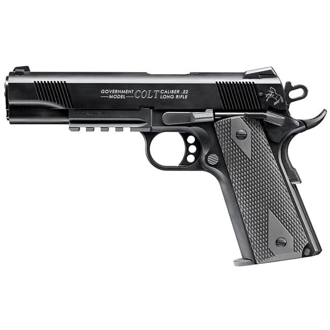 Walther Colt 1911 Rail Gun .22lr 10rd 517030810