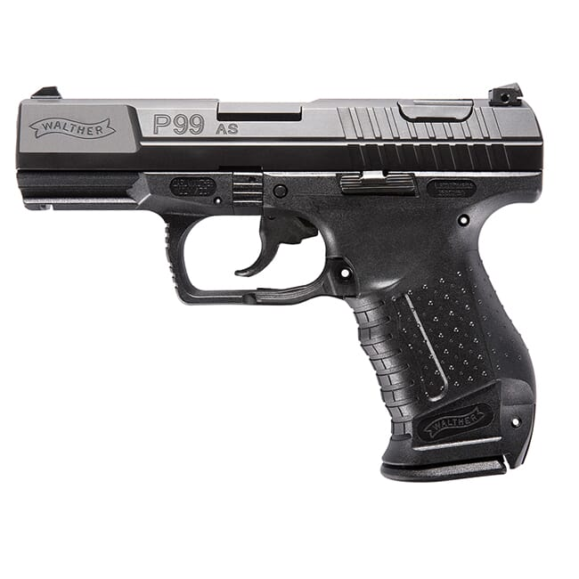 Walther P99 AS 9mm 10 round