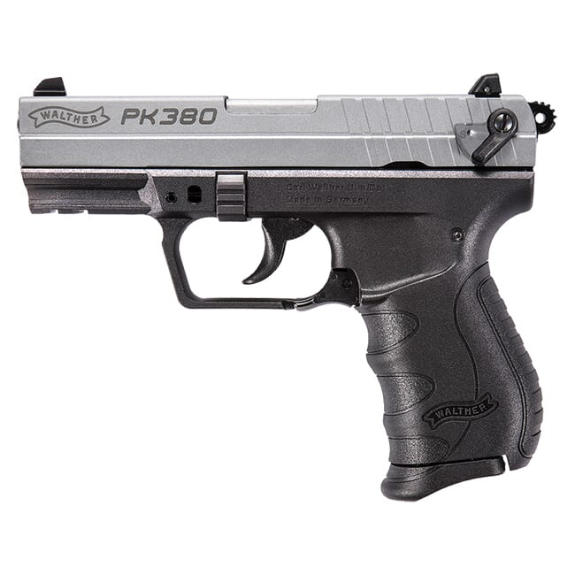 Walther PK380 .380 ACP Nickel 5050309