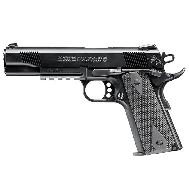 Walther Colt 1911 Rail Gun .22lr 12rd Black 5170308
