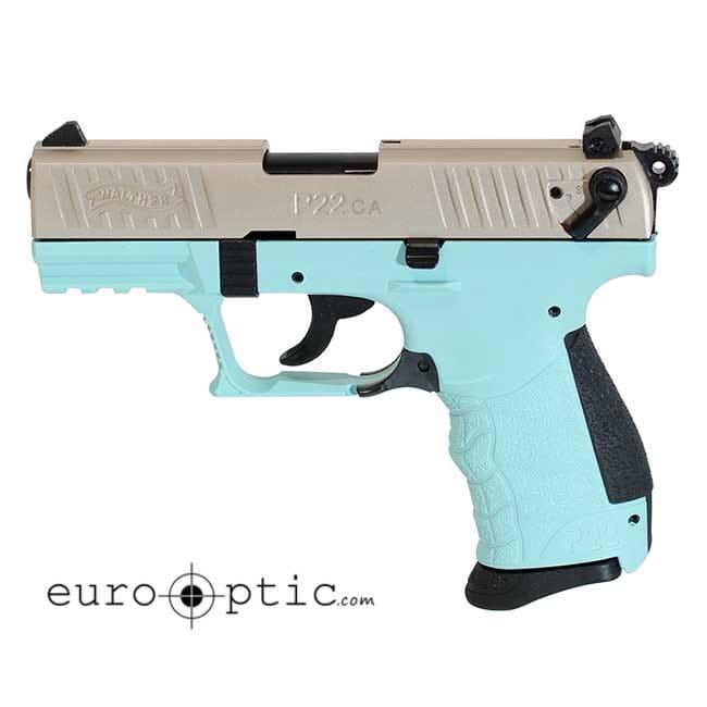 Walther P22 .22L.R. CA Angel Blue