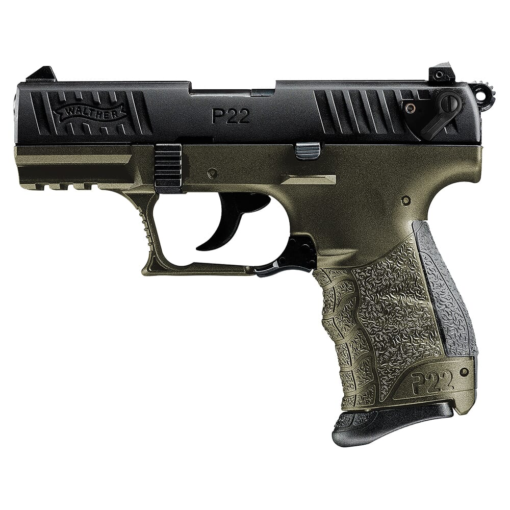 Walther P22 .22lr CA Military 5120338