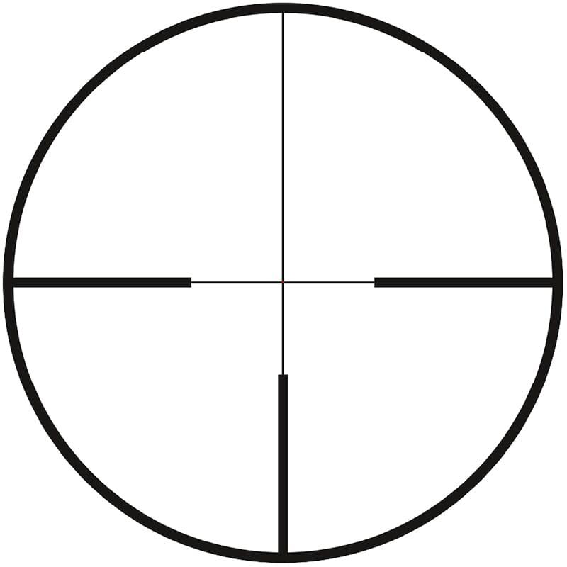 Zeiss CONQUEST V4 3-12x56 Plex Illum  Reticle (#60) Capped Elevation Turret   25 MOA Fixed Parallax 522925-9960-000