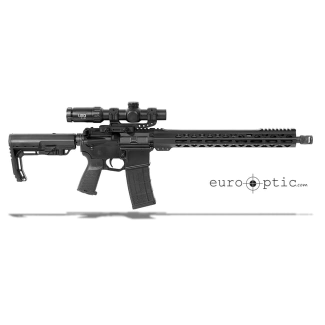 ZRO Delta ZULU .223 Wylde Rifle with M4 DLOC Mount and US Optics TS-8x RBR Scope Package
